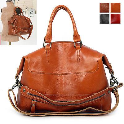 New GENUINE LEATHER purse handbag SATCHEL TOTE SHOULDER Bag [WB1092]