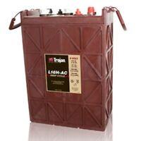 Battery Trojan L16h-ac 6 Volt 435 Ah (20 Hr Rate) Flooded Deep Cycle Each
