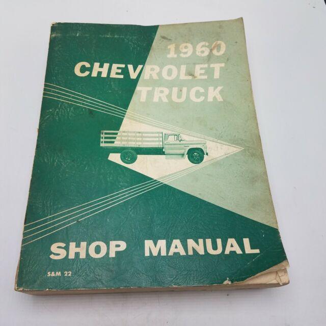 Oem 1960 Chevrolet Truck Pickup C  K C10 C20 K10 K20
