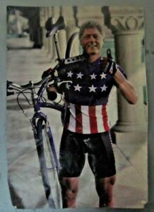 Bill-Clinton-President-Specialized-Poster-Cycling-BMX-Bicycle-Collectable