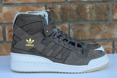 BW1253 Adidas Forum Hi Crafted Pack Charles F Stead Cleaning Kit Brown SZ