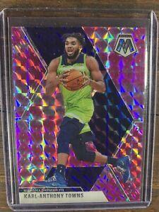 Karl-Anthony-Towns-2019-20-Panini-Mosaic-Prizm-83-Basketball-Card-Timberwolves