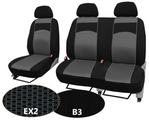 "MERCEDES SPRINTER VAN Mk3 2018 ONWARDS TAILORED SEAT COVERS /""vip/"" HIGH QUALITY"