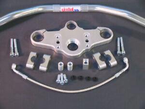 ABM Superbike Lenker-Kit BMW R 1100 S ABS (R2S) | 98-00 | silber