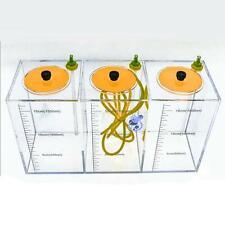JEBAO AQUARIUM DOSING 3 CHAMBER LIQUID CONTAINER 4.5 L- 1500ML/EACH CORAL BOX