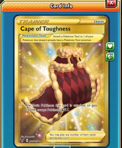 DIGITAL Cape of Toughness Secret Rare Pokemon tcg online