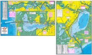 HookNLine F118 Fishing Map for Sabine Calcasieu Lake in Texas
