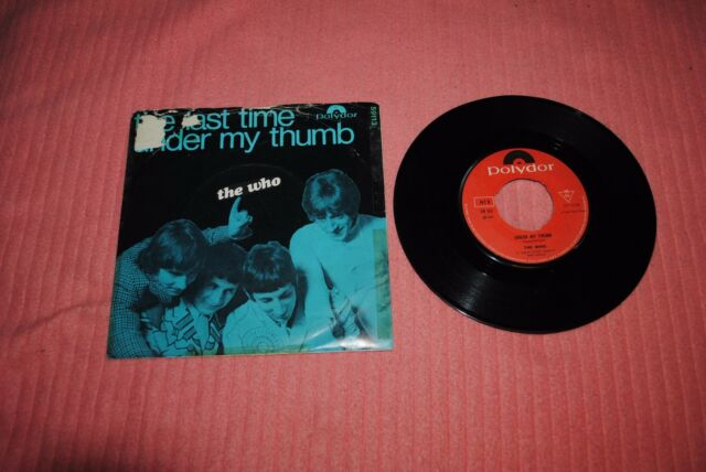 THE WHO: THE LAST TIME +1. NORWAY 1967.  RARE