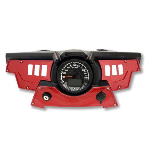 6 switch dash panel kit for Polaris RZR XP 900 S 2015-2018 Red