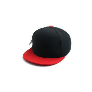 e2e3afaedfd 52~54Cm Kids Boys Baby Girls Solid Color Baseball Cap Snapback Hats ...