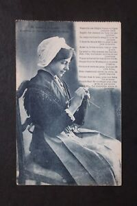 Postcard-Antique-CPA-Animated-Costumes-of-Savoy-Surroundings