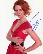 Cynthia Nixon - Miranda Hobbes - Sex and the City -Signed Autograph REPRINT