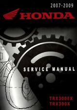 2007 - 2009 Honda TRX300EX TRX300X ATV Quad Service Repair Manual