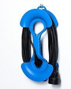 Kabelaufwickler-Kabelhantel-blau-fuer-Kabellaenge-2-25-m-Verlaengerungskabel-Kabel