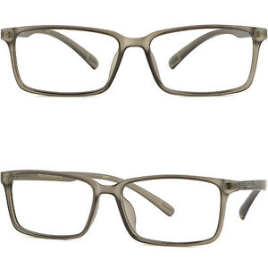 d3078cba1d4 Light Flexible Plastic Frame Square TR90 Men s Women s Prescription ...