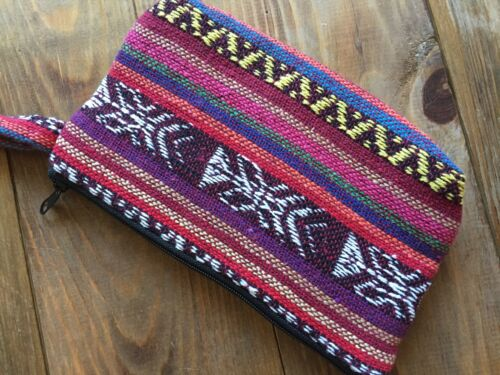 FREE DELIVERY Handmade Unique Wool Purses//Bags Ethnic Bohemian Patterns