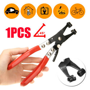 45-Rotated-Jaw-Locking-Car-Pipe-Hose-Clamp-Pliers-Fuel-Coolant-Clip-Tool-Kit