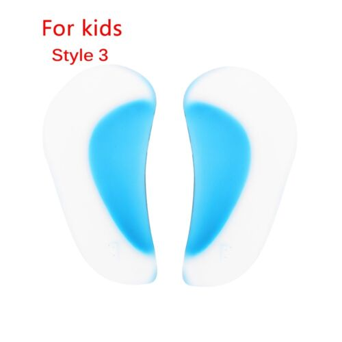 1Pair Arch Support Insole Flat Foot Gel Pads Feet Orthotics Shoe Cushion Insert.