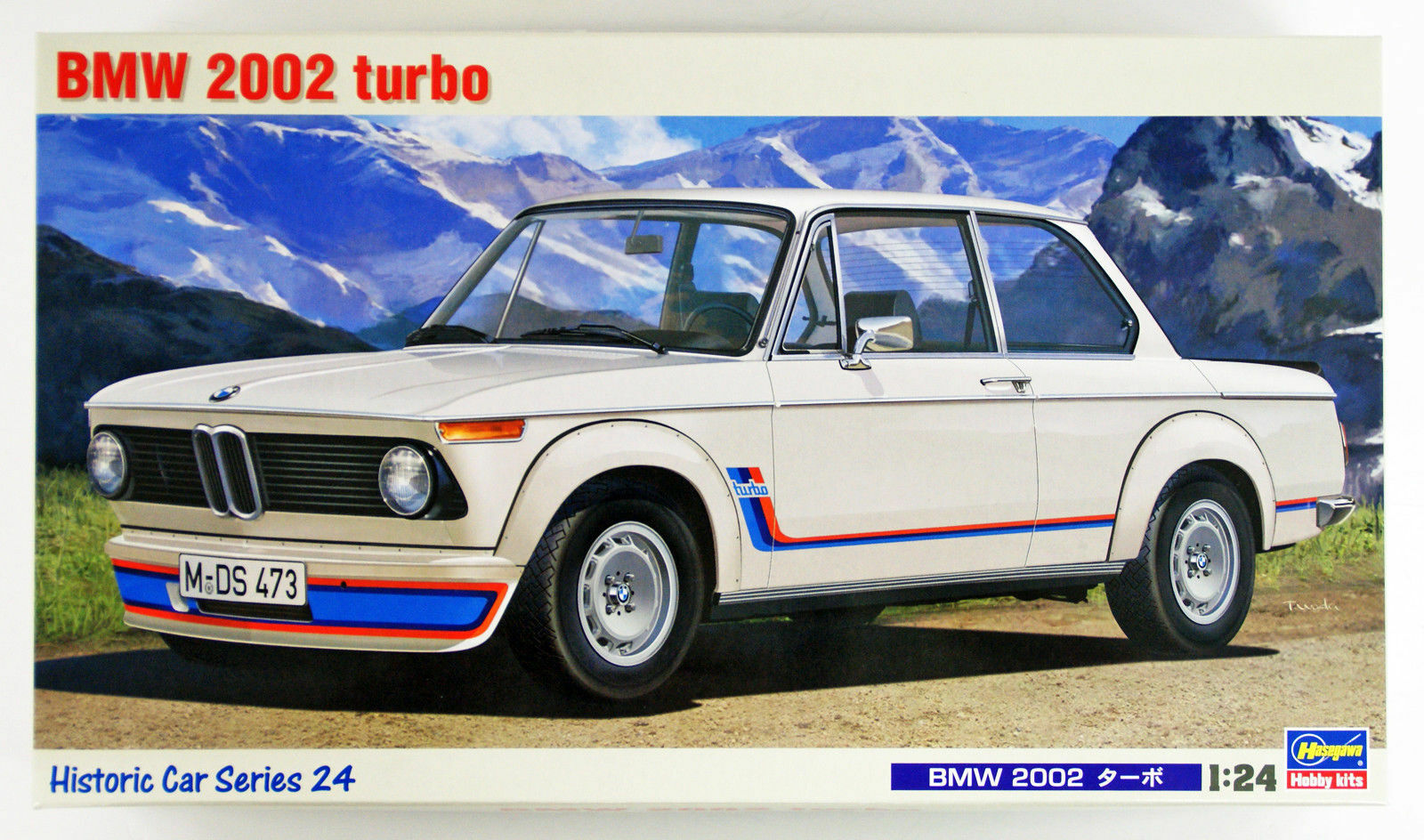 Hasegawa HC-24 BMW 2002 Turbo 1 24 Scale Kit
