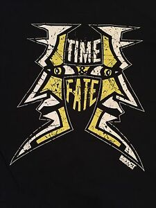 TNA Jeff Hardy T-Shirt XL Time & Fate Impact Wrestling WWE ...  Wwe