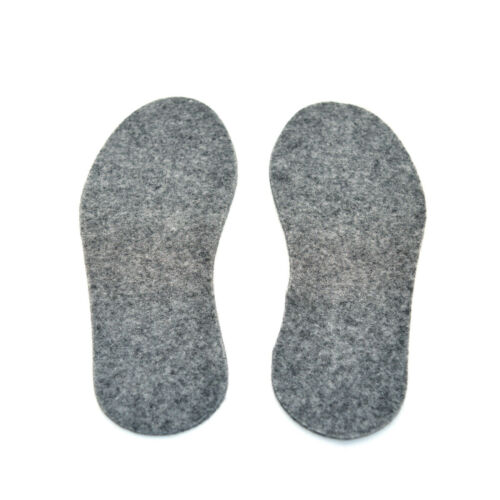 Feutre semelle intérieure pour bottes pedag unisexe chaussures insert hommes femmes taille 7 uk//41 eu