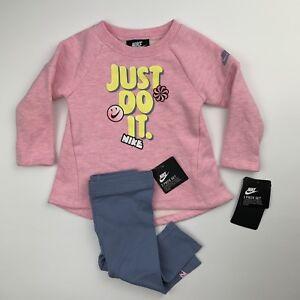 d0fcd286 TODDLER GIRLS: Nike Just Do It 2-Piece Set, Pink - 12 Months 16D680 ...