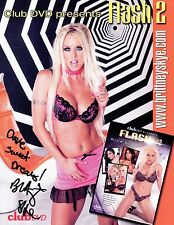 "BRITTNEY SKYE-""Sexy Adult Star""-Authentic Autographed Promo 2 RARE"