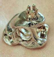 Chamilia Kb-60 Frog Prince Mixed Gold & Silver Charm Bead Authentic Retired