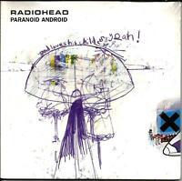 Radiohead Paranoid Android W/ 2 Unreleased Trx Card Sleeve Uk Cd Single Sealed