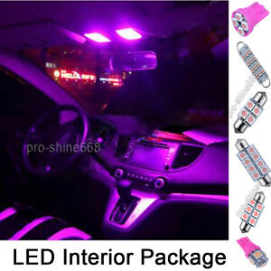 Image Is Loading Premium Pink Interior Led Lights Package Bulb Smd