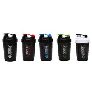 Sport-Shaker-Bottle-Whey-Protein-Mixing-Bottle-Water-Fitness-Nutrition-EB