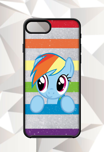 4bae53c27b Details about MY LITTLE PONY RAINBOW DASH IPHONE 5 6 7 8 X PLUS (US SELLER)  CASE FREE SHIP