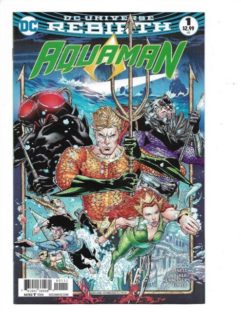 Aquaman Rebirth # 1 Special Edition Near Mint 1st Print DC Comics, Mera, Justice