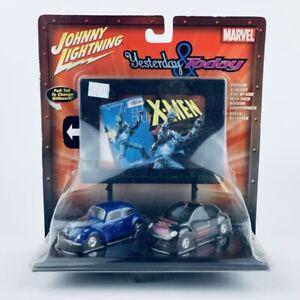 Johnny Lightning ~YESTERDAY /& TODAY~ X-MEN 1998 Volkswagen Beetle