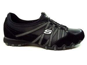 Skechers-Damenhalbschuhe-Sneakers-Slipper-in-Schwarz-21140-BKCC