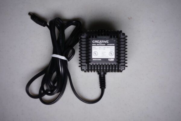 12v Ac Creative Adapter Cord - Inspire Speakers Digital T6200 Computer Wall Plug