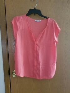 Just-Fab-Womens-Blouse-Size-L