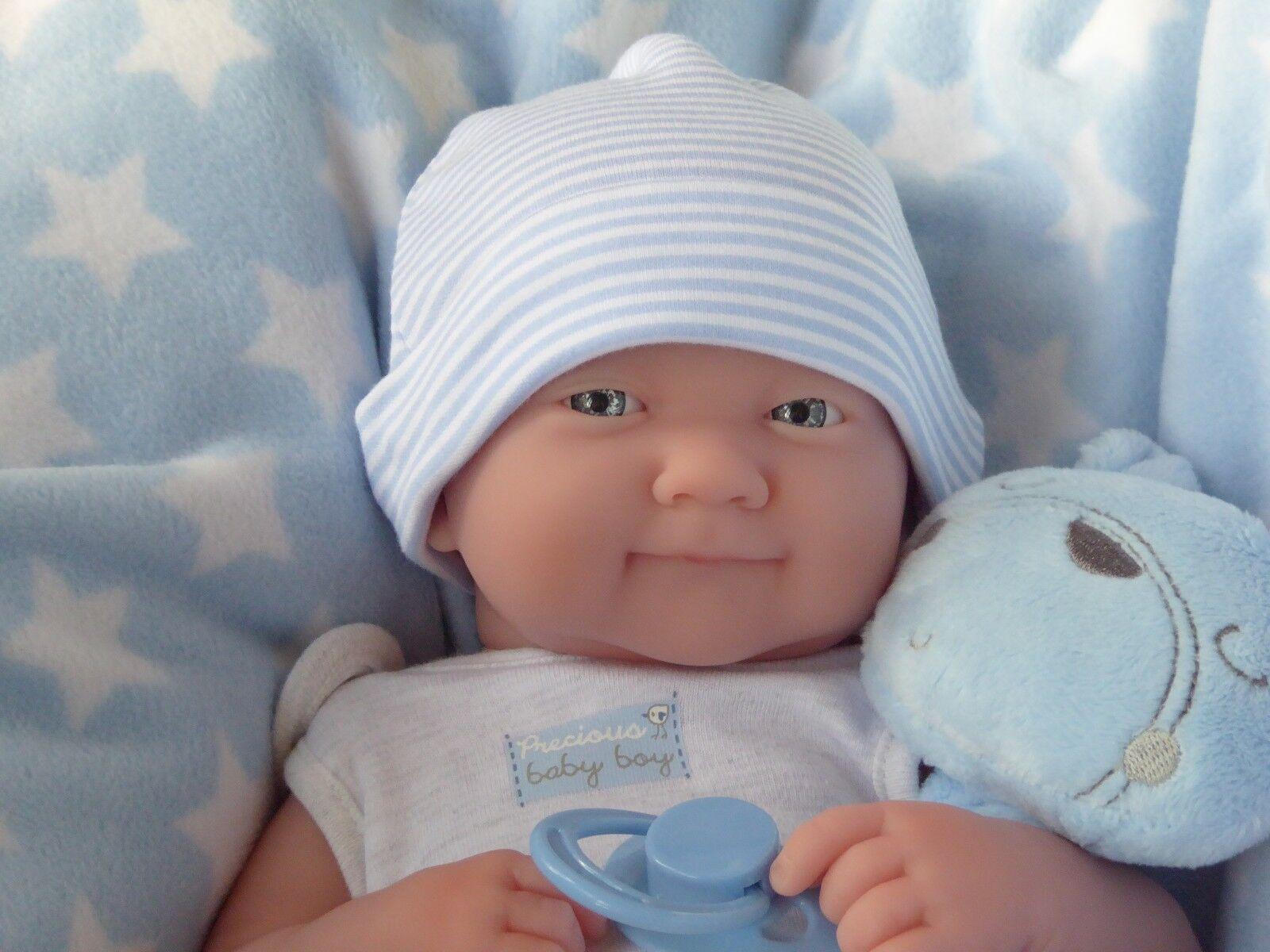 REALISTIC LIFELIKE DOLL   ️  BERENGUER LA NEWBORN REAL BABY BOY REBORN   PLAY