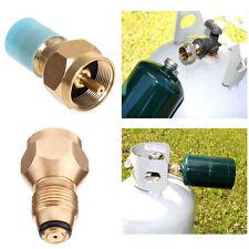 BBQ Grill Saver LPG Propane Tank Gas 1Lb Filling Adapter Coupler Brass Tool
