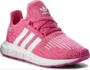 6eaa59c11 Image is loading New-Girls-adidas-Swift-Run-J-Running-Shoes-