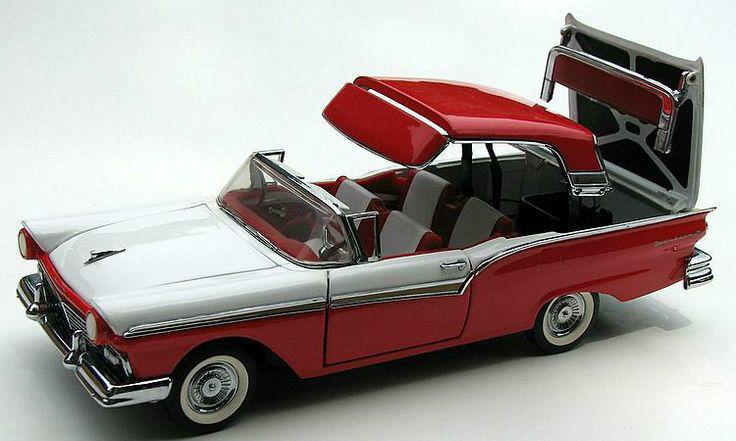 1950 ford 1 concetto vintage sport auto rare rare rare classica giostra rosso 12 model 18 24 ee3214