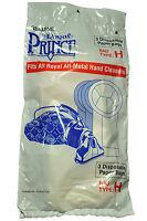 Royal Prince Hand Held Vacuum Cleaner Style H Bags