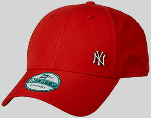 3bc7095a91a NEW ERA MENS 9FORTY BASEBALL CAP.NEW YORK YANKEES FLAWLESS RED ...
