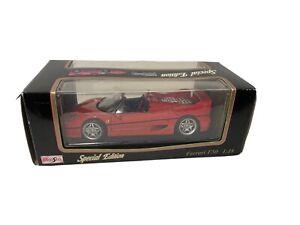 Maisto-Ferrari-F50-1995-escala-1-18-Edicion-Especial-Die-Cast-Modelo-De-Coche-Rojo-Nuevo-en-Caja