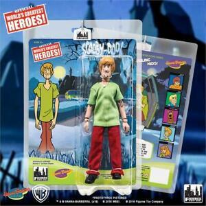HANNA-BARBERA-SCOOBY-DOO-Cartoon-Shaggy-8-inch-retro-action-figure-new