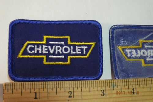 """Vintage Chevrolet Chevy Iron-On Embroidered Patch 3x2/"""""""