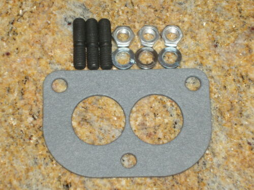 Stromberg 97 81 carburetor intake stud /& gasket set Ford flathead D base 48 94