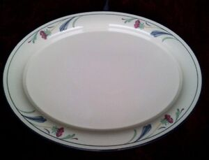 Lenox-POPPIES-ON-BLUE-14-1-4-in-Platter-FREE-SHIPPING