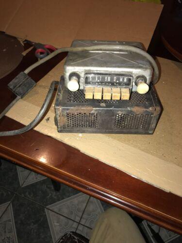 VINTAGE BECKER AUTO RADIO BECKER EUROPA HIGHWAY Hi-Fi TUBE