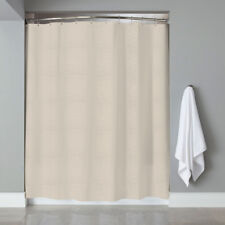 Embossed Fabric Shower Curtain Liner 70x72 Heartwood Hotel Collection